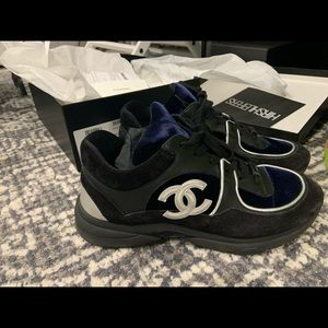 CHANEL SNEAKERS LIKE NEW WITH RECEIPT